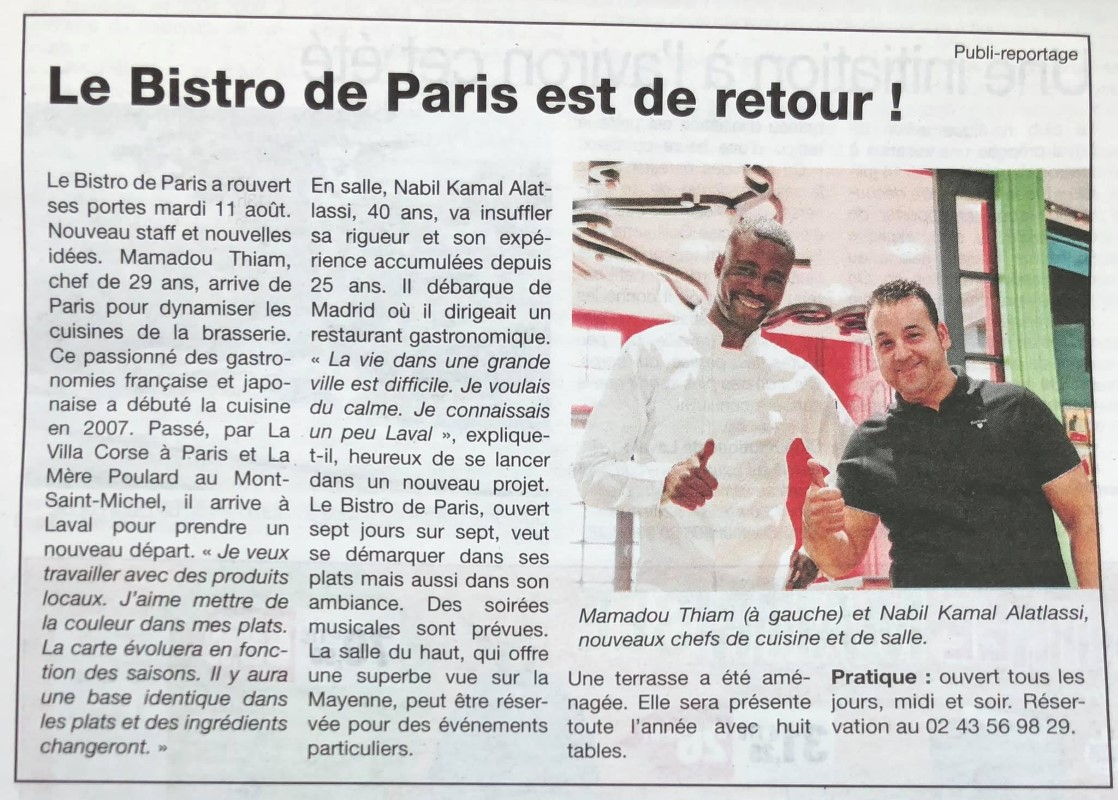 Bistro De Paris Restaurant Laval Img 3 1