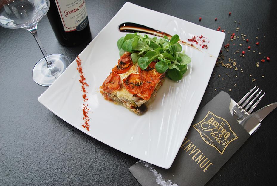 Bistro De Paris Restaurant Laval Lasagnes Legumes 1