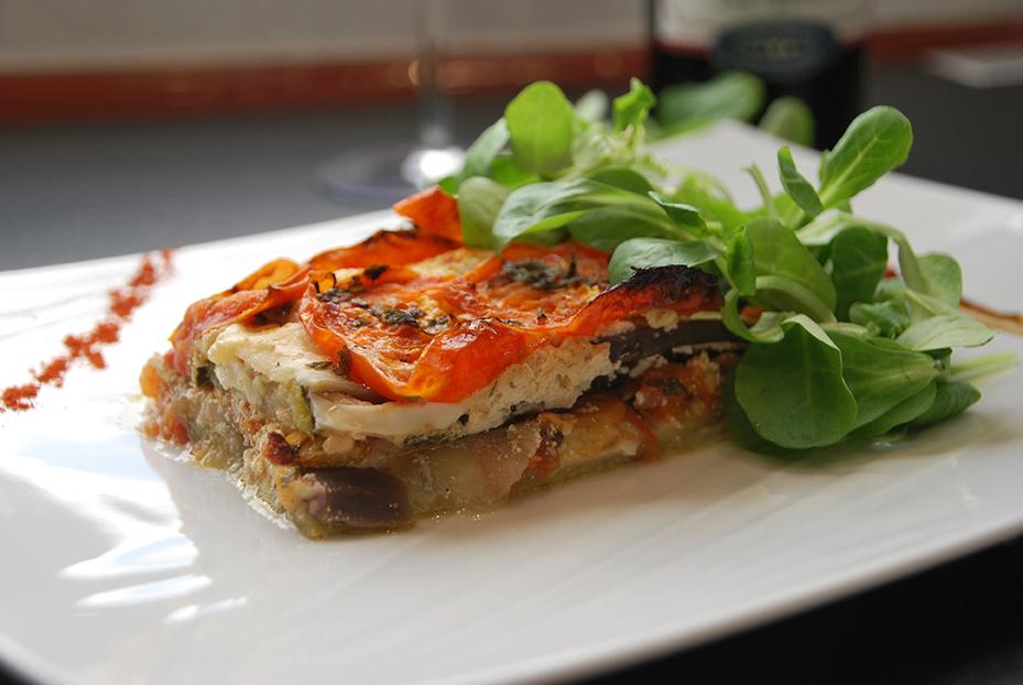 Bistro De Paris Restaurant Laval Lasagnes Legumes