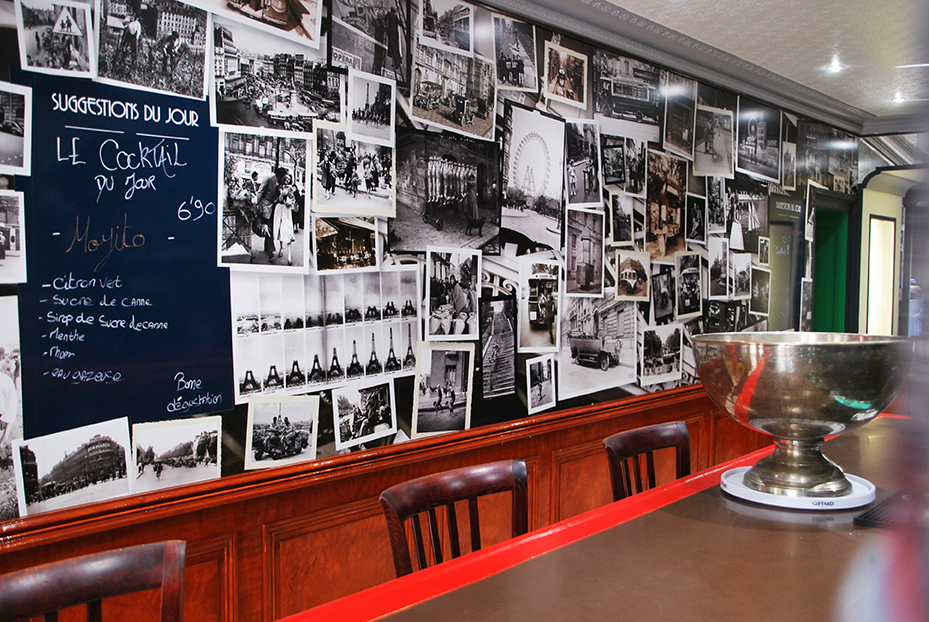 Bistro De Paris Restaurant Laval Mur Bar LBdP