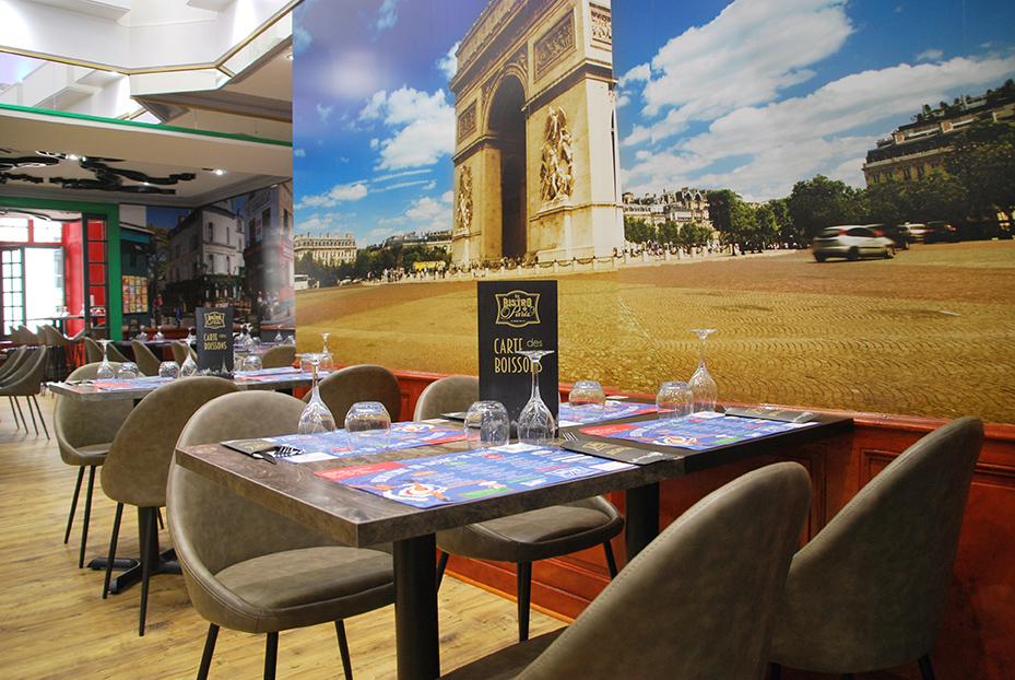 Bistro De Paris Restaurant Laval Salle Arc De Triomphe