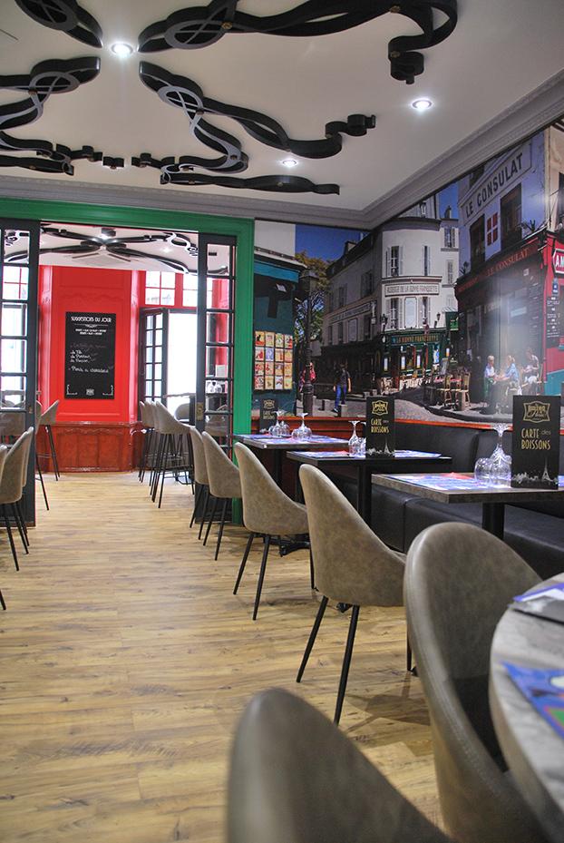 Bistro De Paris Restaurant Laval Salle Montmartre