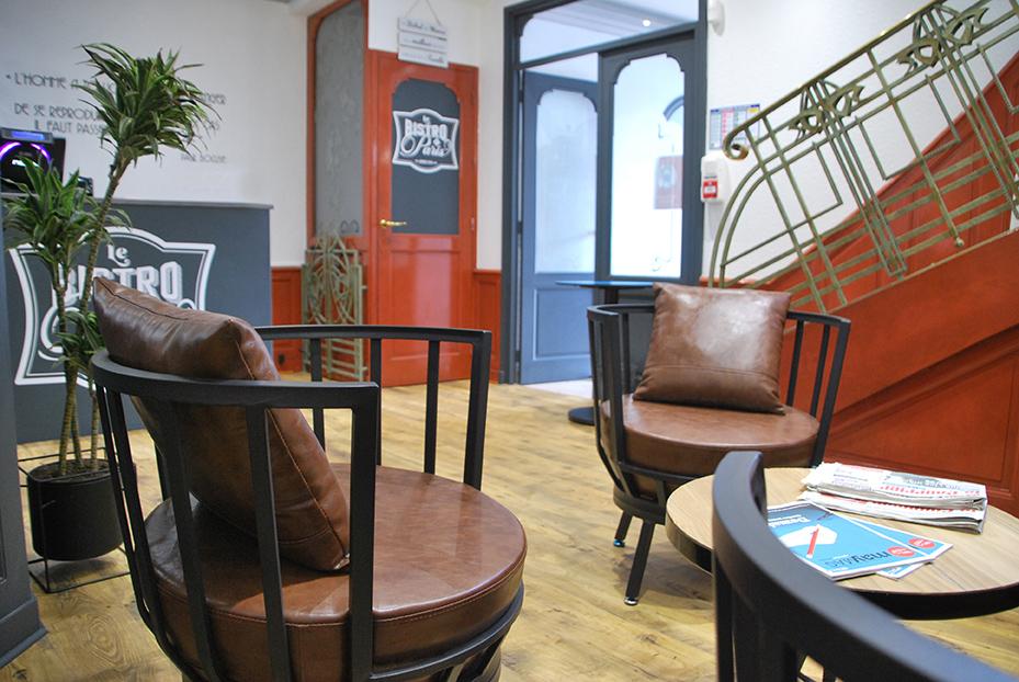 Bistro De Paris Restaurant Laval Salon Accueil LBdP