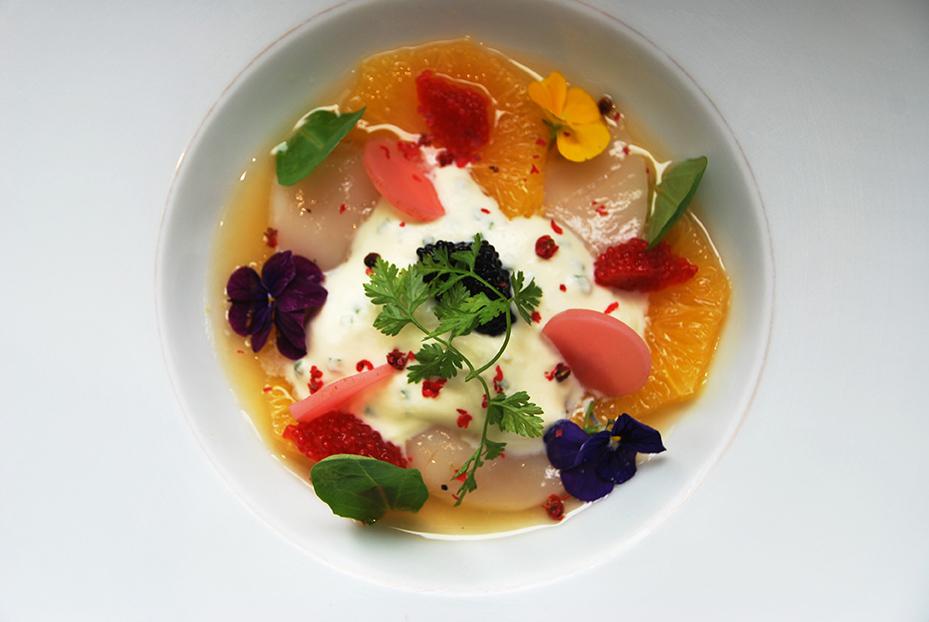 Bistro De Paris Restaurant Laval Soupe Agrumes 2