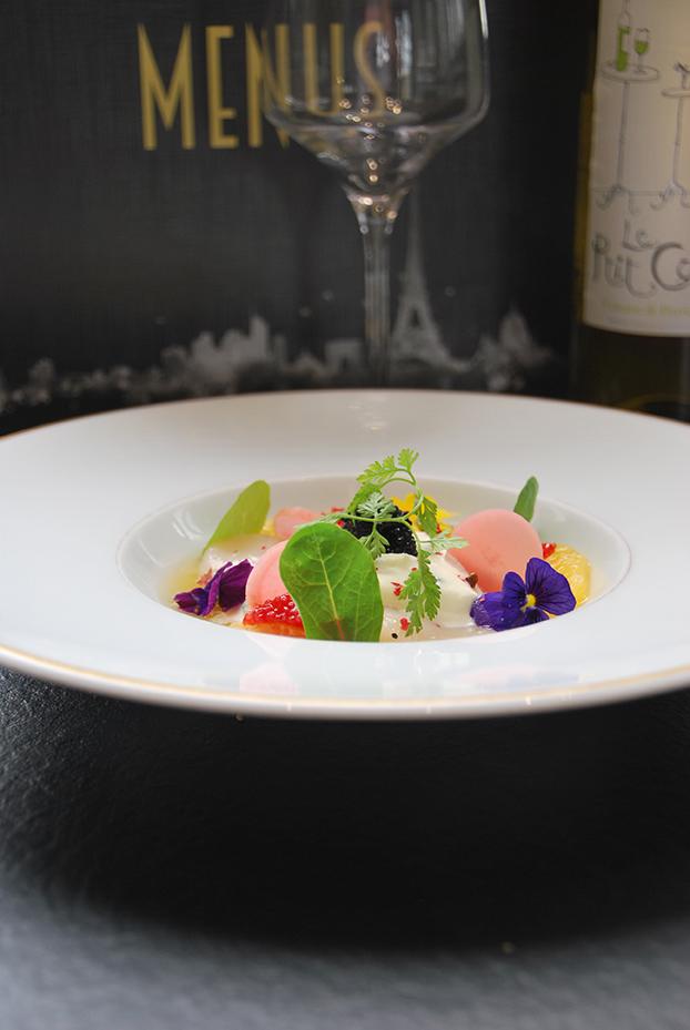 Bistro De Paris Restaurant Laval Soupe Agrumes