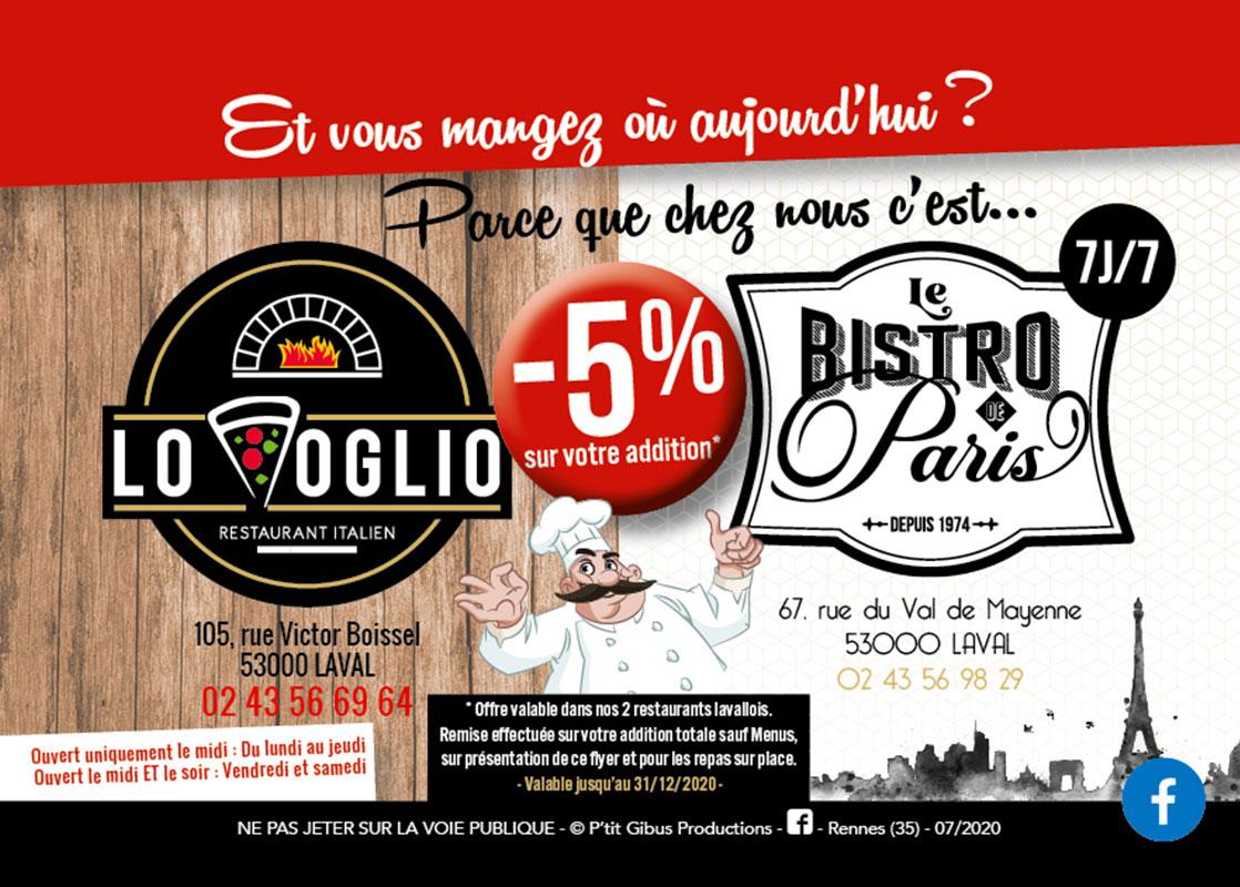 Bistro De Paris Restaurant Laval Actualite